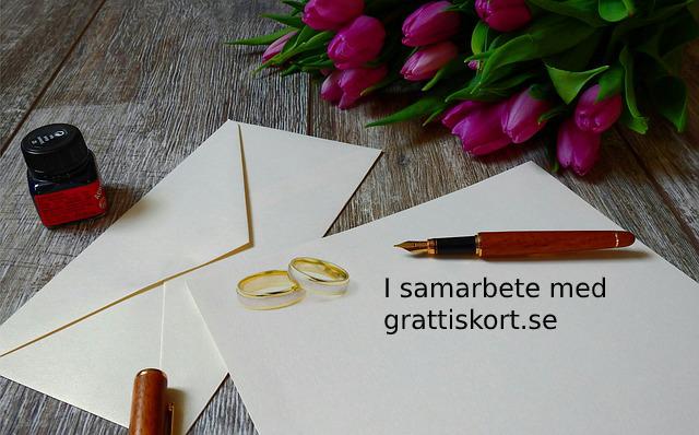 Vackra bröllopskort höjer din bröllopsgåva