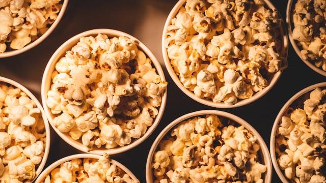 Popcorn vid bröllop